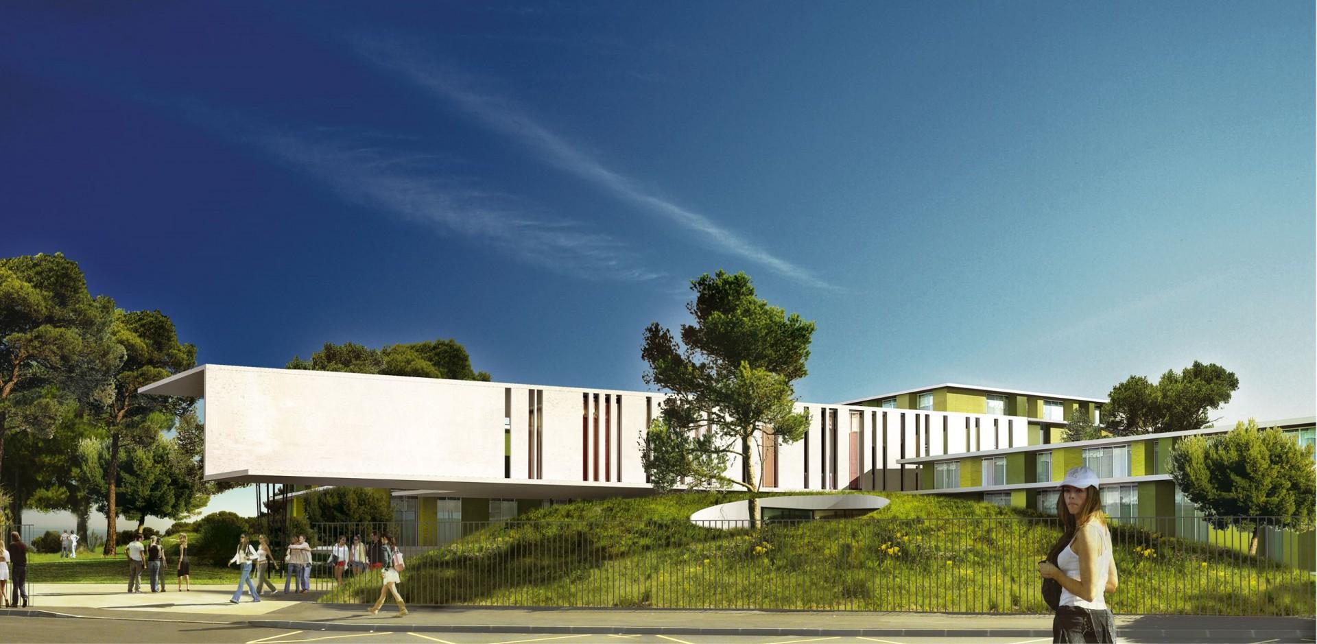 Lycée Latécoère / Réhabilitation-Extension / Adrien Champsaur Architecte Marseille