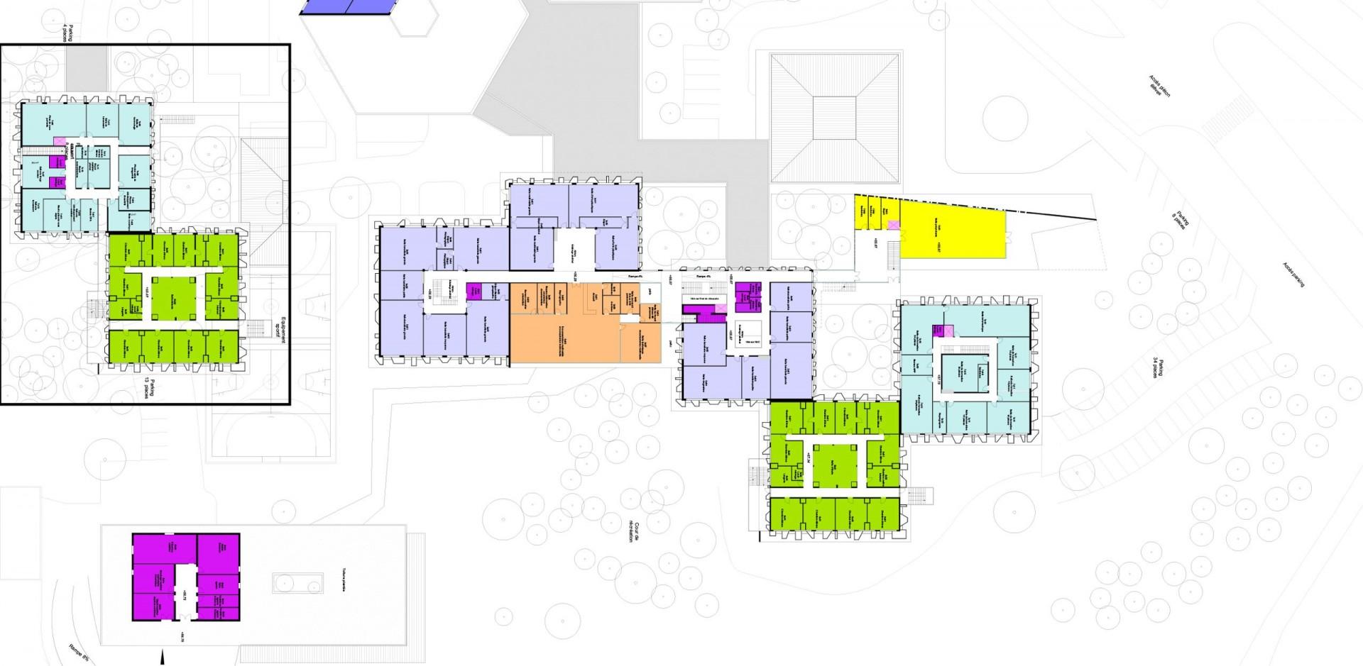 Lycée Latécoère / Réhabilitation-Extension