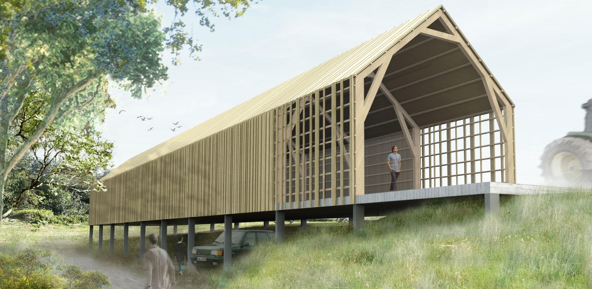Adrien champsaur architecture architecte marseille - Maison dans hangar metallique ...