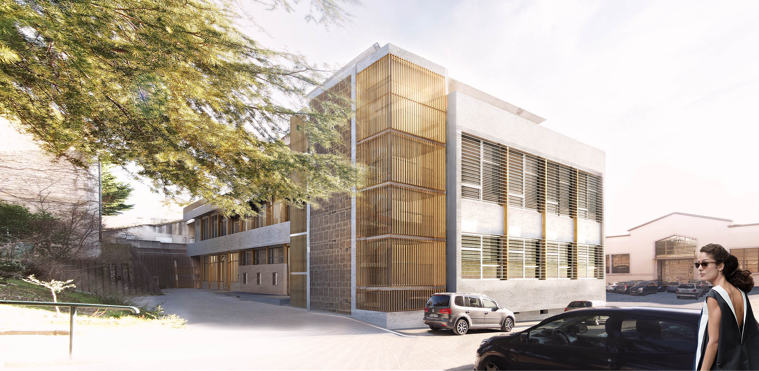 Réhabilitation et mise en accessibilité du bâtiment M de L'ENSAM